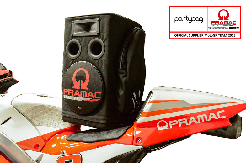 Partnership with Pramac Racing Team