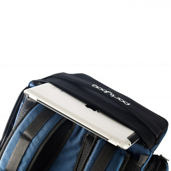 backpack speaker with ipad