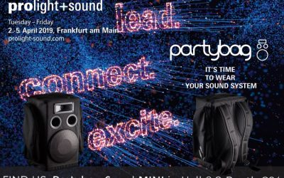 Partybag @ Prolight & Sound 2019 – Frankfurt